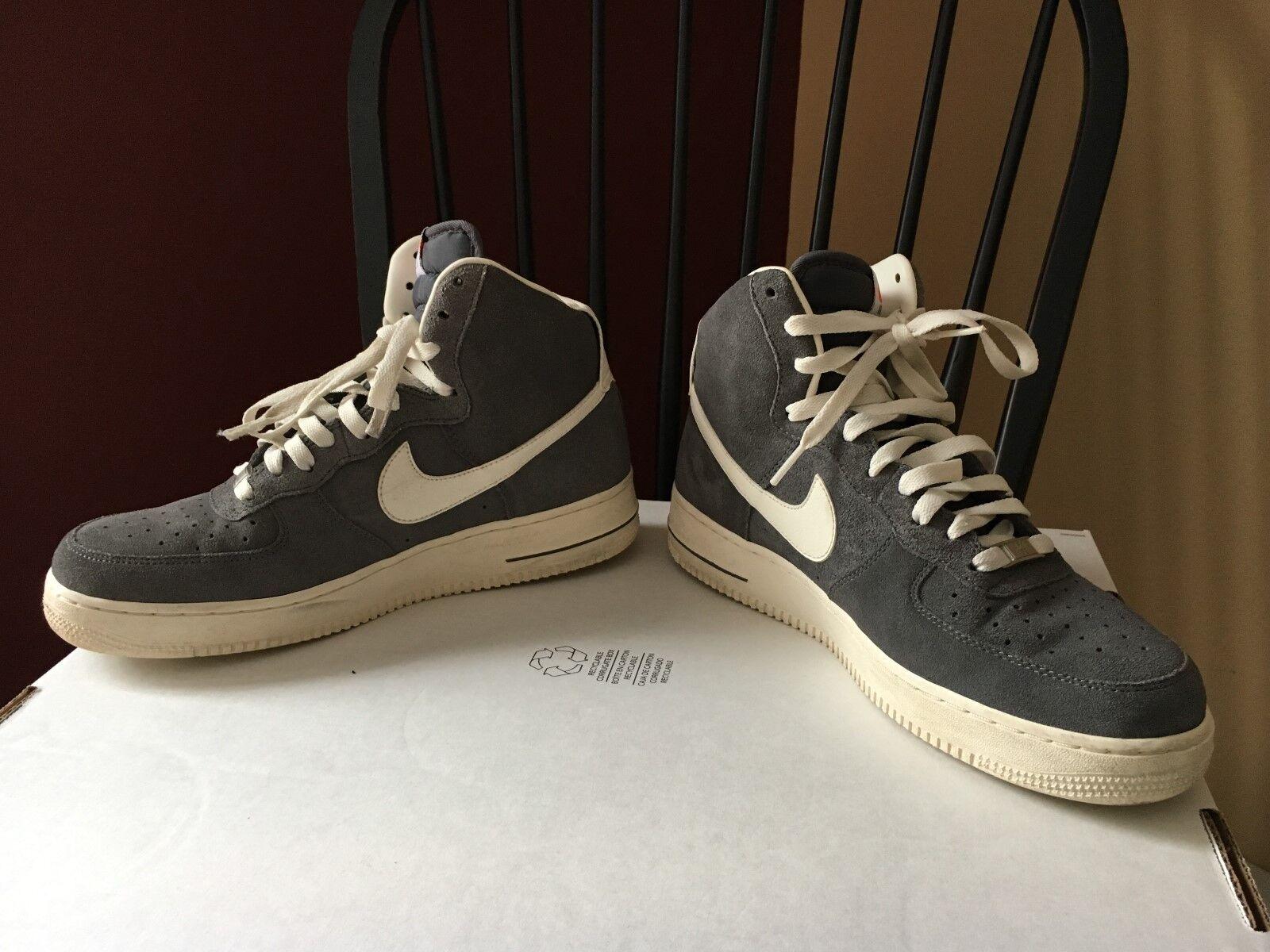 Los hombres de Nike comodo Air Force I Gray comodo Nike 625f48