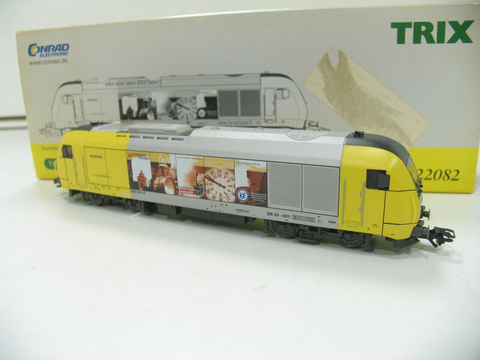Trix 22082 diesellok él 20 siemens dispolok transformación digital luz de cambio wm753