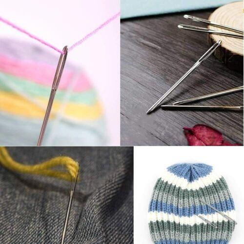 Amazing Knitting Crochet Locking Stitch Needle Clip Markers Holder Tool Craft