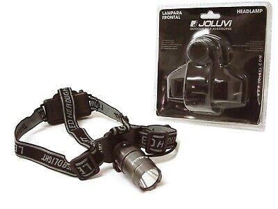 JOLUVI LINTERNA LAMPARA LUZ LED FRONTAL CABEZA 1100 LM 60 METROS 34760