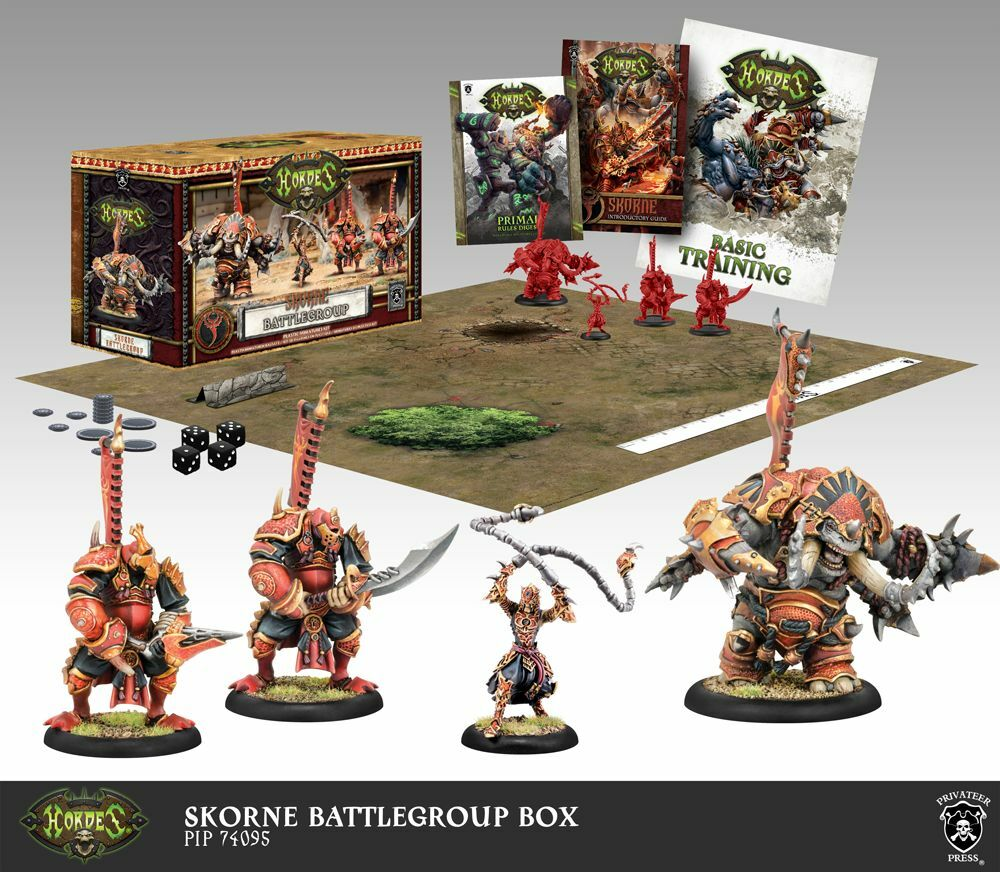 Hordes Skorne Battlegroup Starter Box