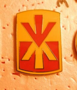 11th Air Defense Artillery Brigade CSIB US Army Identification ID Badge
