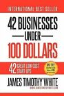 42 Businesses Under 100 Dollars by James Timothy White (Paperback / softback, 2012)