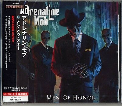 ADRENALINE MOB-MEN OF HONOR-JAPAN CD BONUS TRACK F83