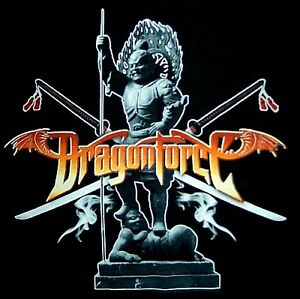 DRAGONFORCE-cd-lgo-SMOKIN-039-SAMARAI-Official-SHIRT-LAST-XL-New-oop