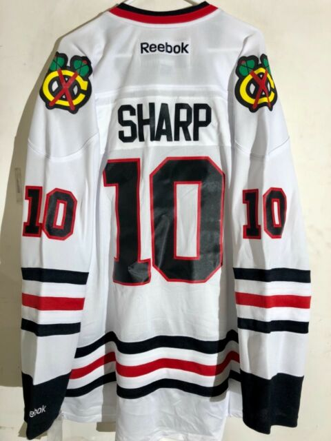 Reebok Premier NHL Trikot Chicago Blackhawks Sharp Weiß Sz