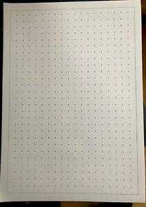 A4-Dot-treillis-papier-quadrille-50-PK-pour-Maths-Science-design-10-mm-1-cm