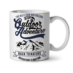 Nature Adventure Mountain NEW White Tea Coffee Mug 11 oz | Wellcoda