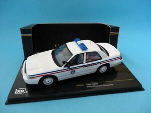FORD-CROWN-POLICE-MUNICIPALE-MONTPELLIER-POLICIA-FRANCIA-1-43-NEW-IXO-MOC067