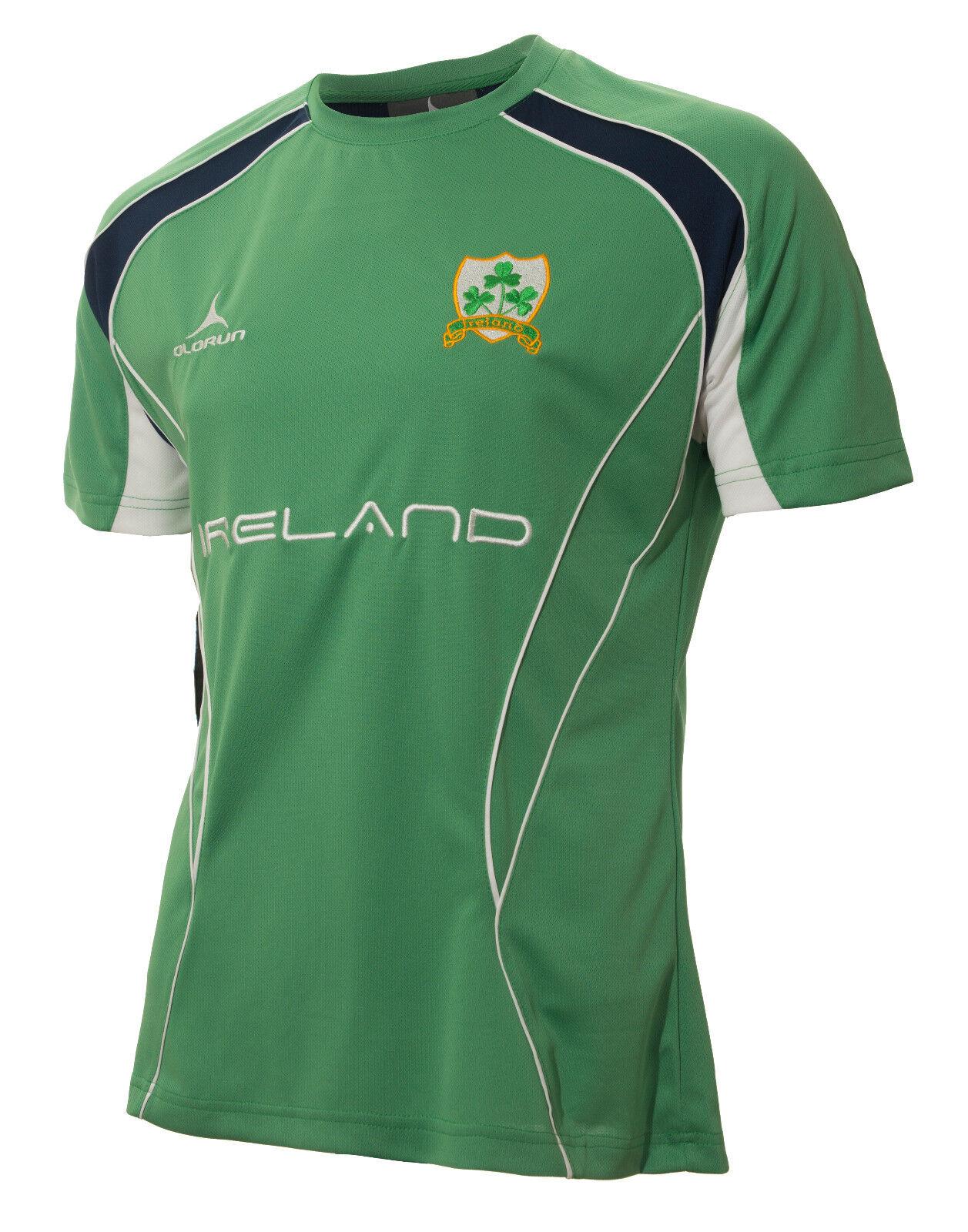 Olorun Irland Rugby Anhänger Kultig T-Shirt S - XXXXL     | Sehr gute Farbe  | Online einkaufen  | Großartig