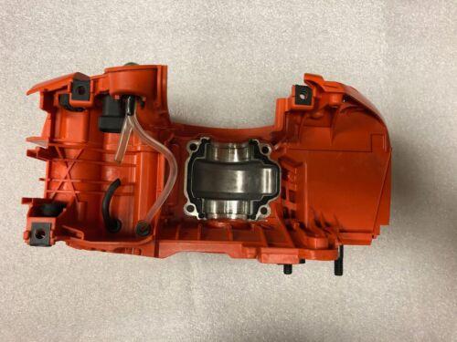 tanks new oem husqvarna 455 piston and cylinder crank shaft crank case