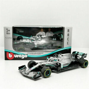 BURAGO 38136 MERCEDES AMG PETRONAS W10 EQ POWER + F1 model car L Hamilton 1:43rd