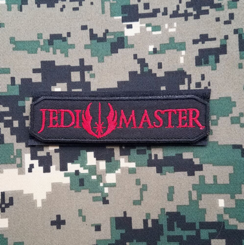 3D TACTICAL PATCHES EMBRODIERED PATCH JEDI MASTER MORALE BADGE USA ARMY U.S 02
