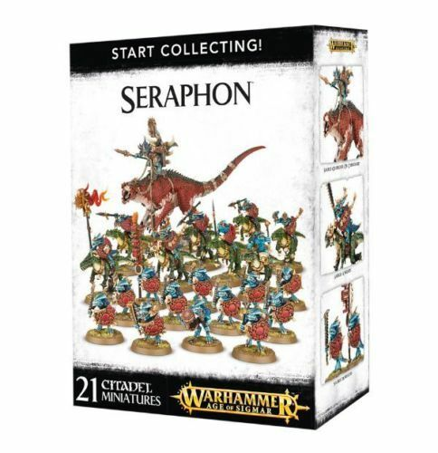 Warhammer Age Of Sigmar Start Collecting Seraphon - Free SHIPPING