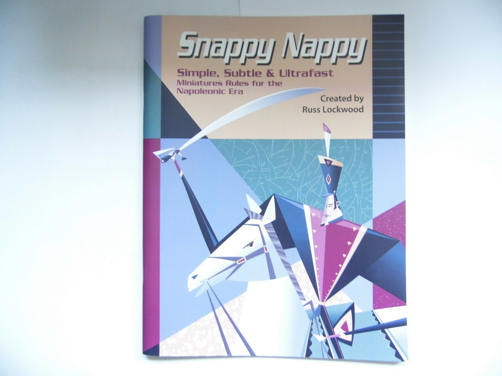 SNAPPY NAPPY  - WARGAME RULES - NEW  - NAPOLEONIC