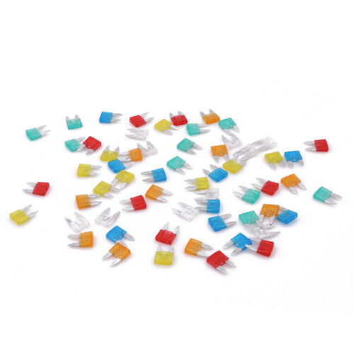 Colorful Low Profile Mini Blade Fuse Assortment Set Auto Car Truck Motor S