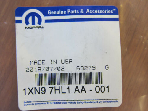 2011-2020 Jeep Grand Cherokee Power Driver Seat Panel Cover NEW MOPAR OEM