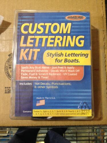 """HARDLINE WHBKS610-5/"""" Custom Lettering Kit White//Black 196 total characters"""