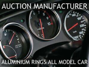 Toyota-Supra-Mk4-1993-1998-3-Teilig-Aluminium-Tachoringe-Tacho-Ringe