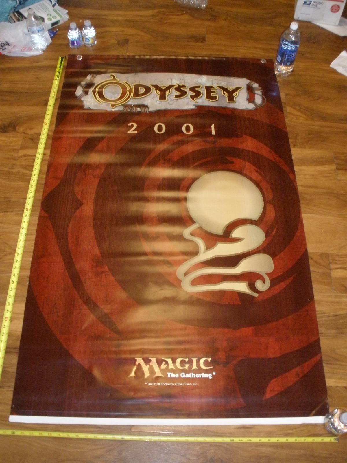 MTG MTG MTG Magic Odyssey Vinyl Poster Hanging Store Display 5dd74b