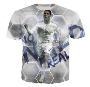 on sale 0032c 8425d New Fashion Womens/Mens Athletes Cristiano Ronaldo 3D Print ...