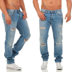 Jones Herren Mike Fit Uomo Jeans Jack Vintage Comfort Bl734 6daUa8