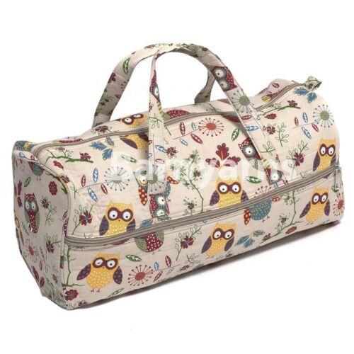 Knitting Bag Storage Bag for Knitting Wool Knitting Needles Crafts Hobbygift OWL