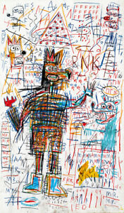Jean-Michel-Basquiat-Print-on-Canvas-Abstract-art-decor-Untitled-Drawing-24x48-034