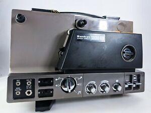 Sankyo-SOUND-600-Super-8-Single-8-Film-Projector-Magnetic-Sound-Movie