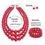 Women-Bohemian-Choker-Chunk-Crystal-Statement-Necklace-Wedding-Jewelry-Set thumbnail 157