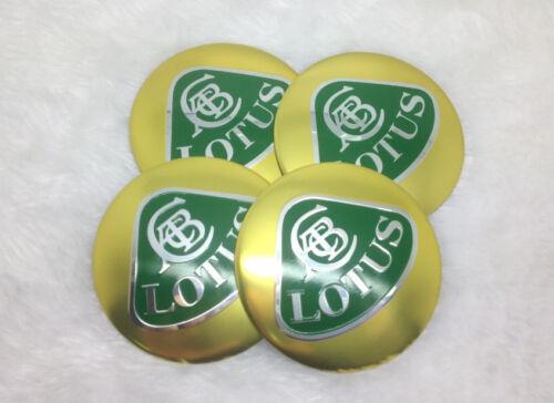 OLT56 4X Fit  most Lotus  WHEEL CAPs Alloy  EMBLEM Stickers 56mm NEW 3D