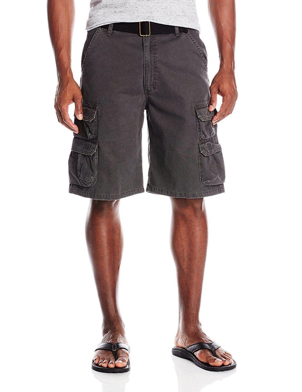 Wrangler Authentic Men's Premium Twill Cargo Shorts Size 34