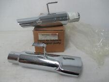 1968 1969 1970 road runner GTX Superbird Chrome Exhaust Tips 2883826 New MoPar