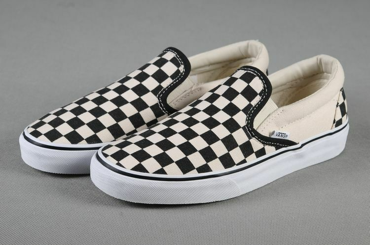 Vans Classic Slip-on Black White Checker Fashion Sneakers