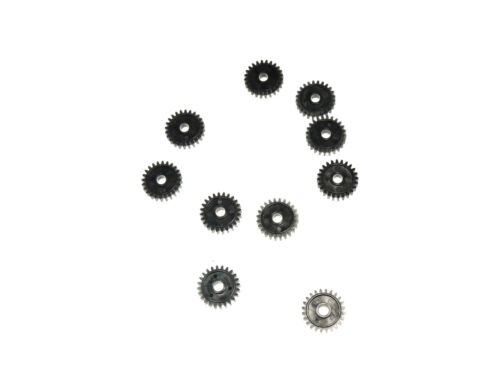 LOT x 10 Nylon 22 Tooth 1 1//4 cm x 1//4 cm Precision Molded Push-Fit Cogs Gears