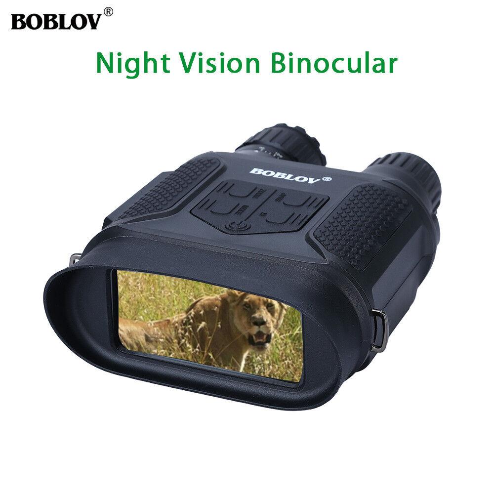 7x31 Night Vision Binocular Monocular Infrared Scope With 4GB HD IR Camera 400M