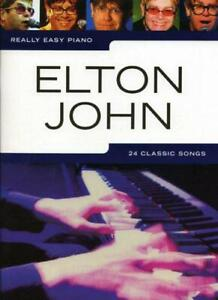 Really-Easy-Piano-Elton-John-Pf-by-Various-NEW-Book-FREE-amp-FAST-Delivery-Pap