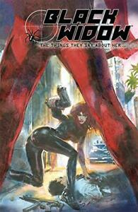 Black Widow: The Things They Say About Her by Bill Sienkiewicz Book The Fast