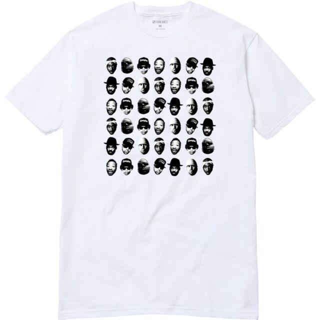 Dead Rappers T-Shirt Tupac BIG Pun ODB Run DMC NWA Eazy Pimp C Hip Hop T-Shirt