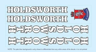 Stickers n.800 Holdsworth Bicycle Decals