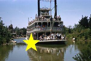 Disneyland-1956-Mark-Twain-Vintage-PHOTO-Kodachrome-Slide-Walt-Disney-10