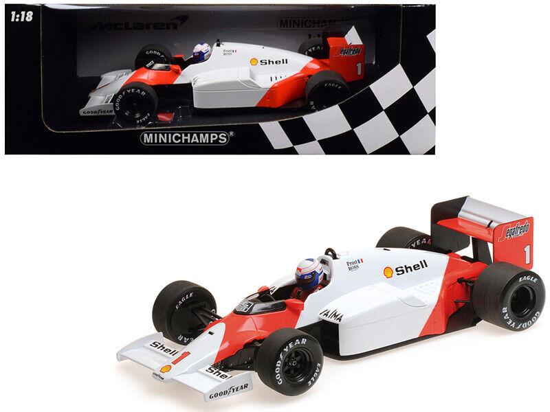 venderse como panqueques McLaren Tag MP4 2C  1 Alain Prost  Shell Shell Shell  campeón mundial (1986) 1 18 Diecast Mod  tiempo libre