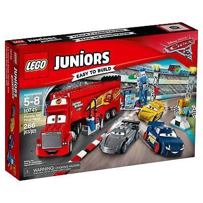 10745 Florida 500 Final Race Lego Disney Cars 3 New Mack Legos Set Juniors Storm Ebay