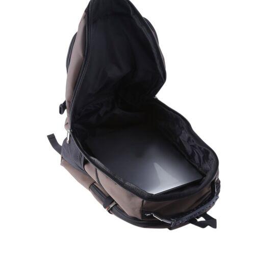 """Men/'s Rucksack Notebook 15.6/"""" Laptop Backpack Shoulder Hiking Travel School Bag~"""
