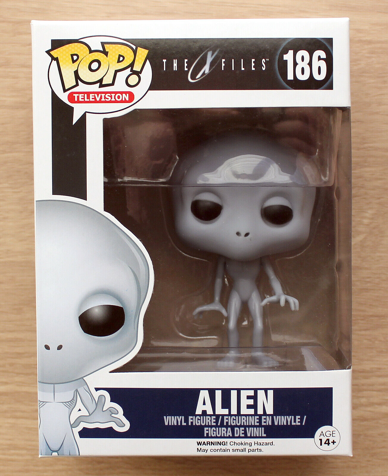 Funko Pop The X Files Alien + Free Protector