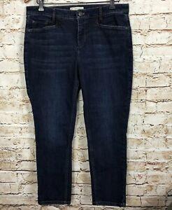 J-Jill-Denim-Jeans-Slim-Ankle-Blue-Smooth-Fit-Women-039-s-Size-Petite-12