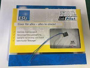 +++ Esu 53665 Lokpilot Nano Standard, Décodeur Dcc, 6-pol. Connecteur Direktanschlus