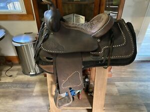 15 Inch Tex Tan Balance Ride Western Saddle