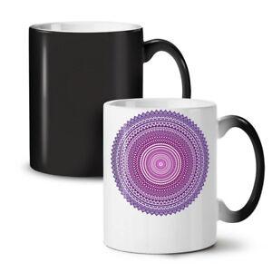 Mandala Art Round NEW Colour Changing Tea Coffee Mug 11 oz   Wellcoda