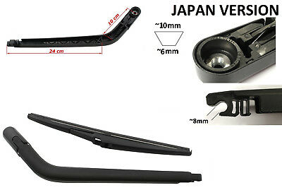 Rear Window Wiper Arm Blade Replacement For TOYOTA YARIS Japanese 1999-2005